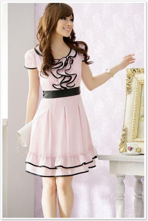 Dress Forever Koreanstyle korean dress korean dress k1222 pink k1222 10 90 yuki wholesale clothing clothes or