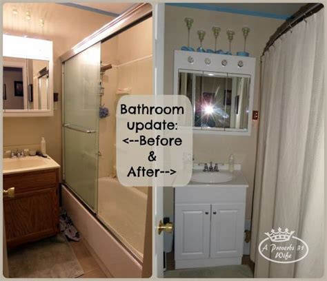 bathroom updates before and after bathroom before and after photos a proverbs 31 wife