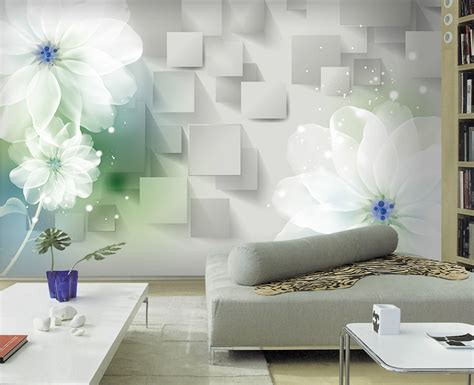 Living Room Wallpaper 3d Background by 3d Stereoscopic Minimalist Modern Bedroom Living Room Sofa