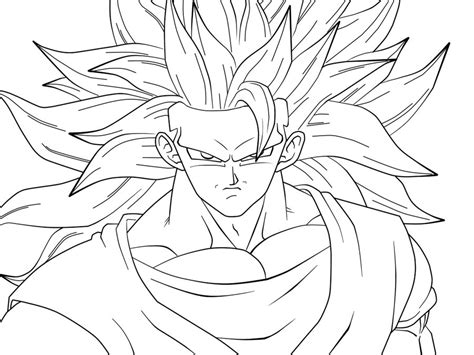 coloring pages goku free coloring pages of goku