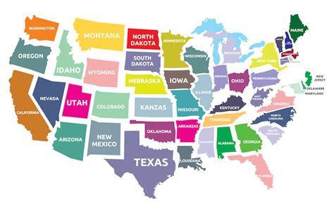 how to memorize the map of the united states mmem 0162 memorizing the position of us states with time