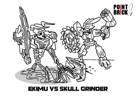 Bionicle Coloring Pages To Download And Print For Free Bionicle Coloring Pages