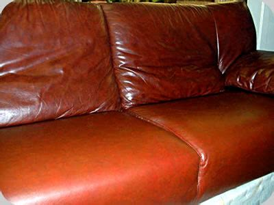 brown leather couch repair leather furniture repair