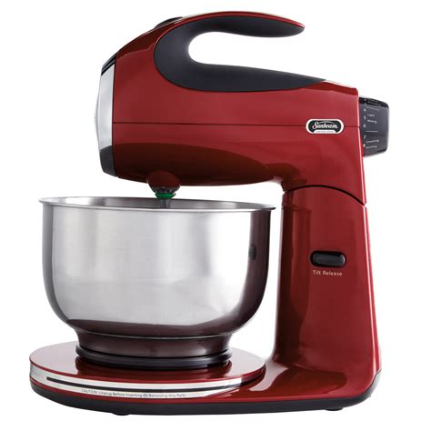 sunbeam kitchen appliances sunbeam 174 heritage series 174 stand mixer red sunbeam