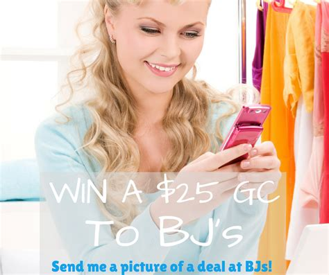 Submit A Giveaway - winner announced for submit a deal giveaway my bjs wholesale