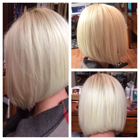 mid length bob hair styles front and back views medium length bob hair pinterest bobs colors and