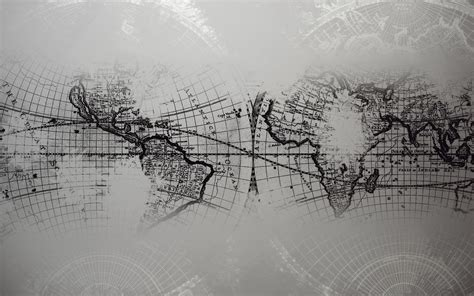 grayscale wallpaper 1920x1200 world map grayscale desktop pc and mac wallpaper