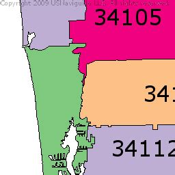 zip code map naples fl naples zip code map zip code map