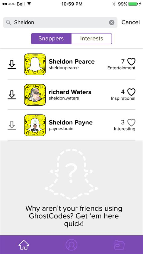 Search Snapchat Snapchat Search For Username Profile Appamatix