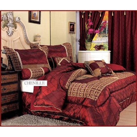 Portland Burgundy King Size Luxury Burgundy Home And King Size Bedding On
