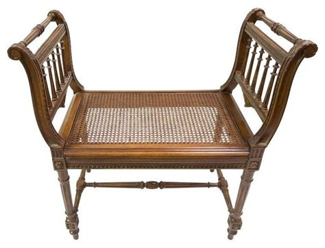 antique wooden bench seat antique wood bench with cane seat indoor benches by