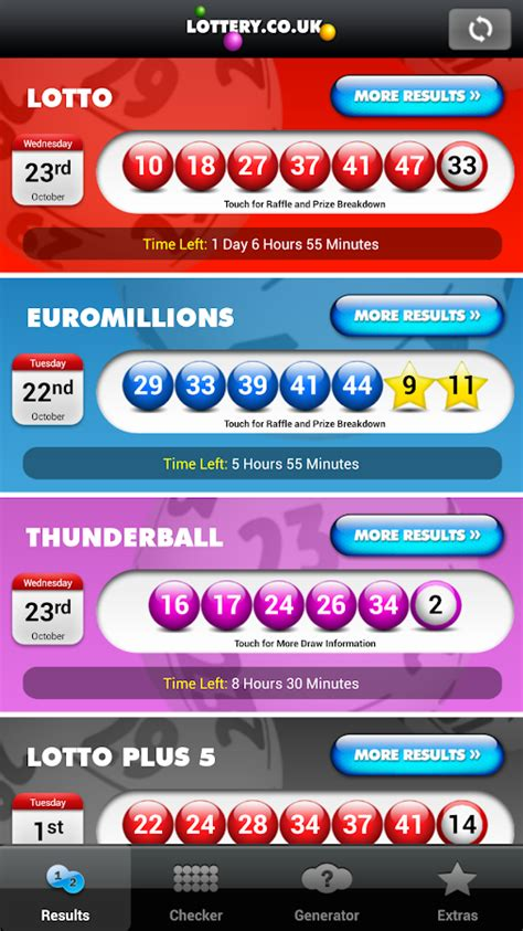 lottery post android national lottery results android apps on play
