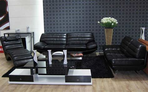 black leather sofa set sofa set black jaguar leather sofas