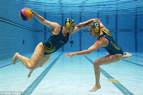 hot female water polo players four australian women s olympic water polo players locked