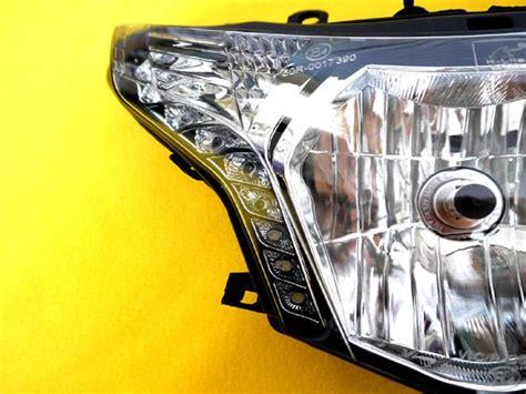 Lu Led Motor Cbr 250 2011 2012 2013 2014 honda cbr 250r cbr250r headlight assembly led running light ebay