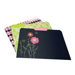 Decorate File Wilson Jones Resource Recycled Decorative File Folders 6