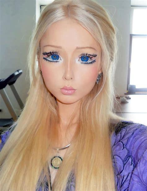 tutorial dandan seperti barbie tutorial makeup ala gadis barbie valeria lukyanova