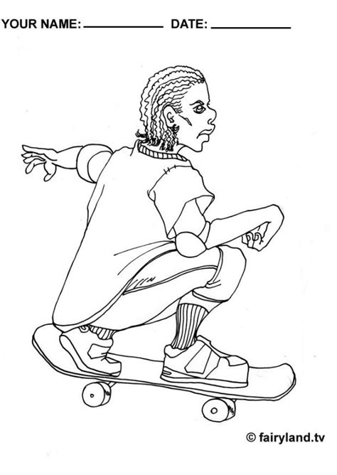 Skateboarding Coloring Pictures Coloring Home Skateboarding Coloring Pages Free Printables