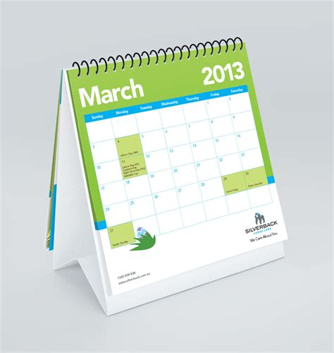 desk calendars silverback desktop calendar the wizarts