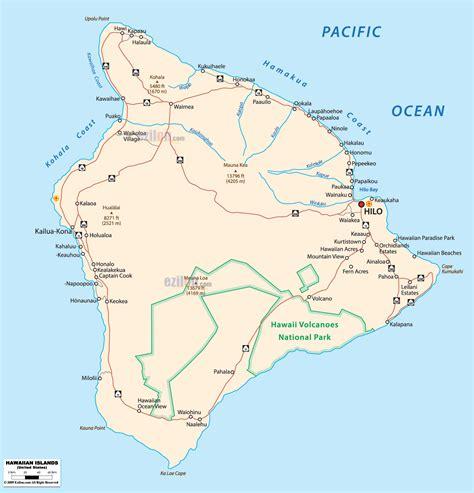 hawaii map usa detailed political map of hawaii ezilon maps