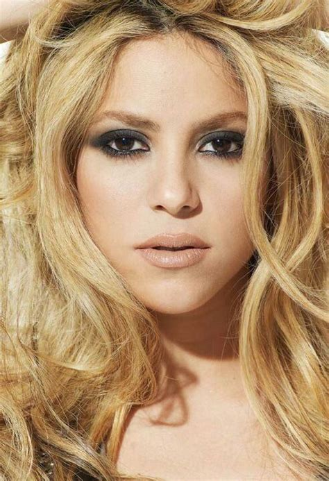 shakira hair color shakira hair color you my brown eyed