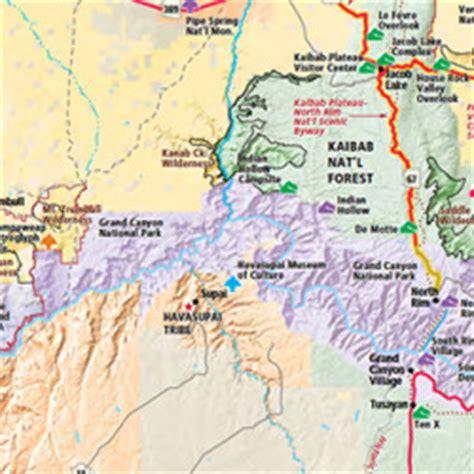 map of northern arizona arizona maps visit arizona