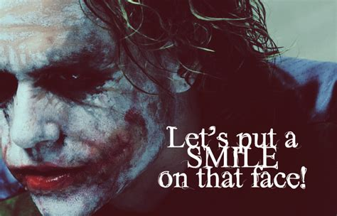 Joker Quotes Favourite Quote 7 Poll Results The Joker Fanpop