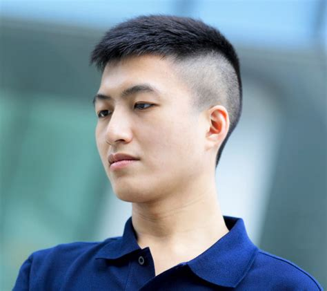 cool short asian men hairstyles to roll with