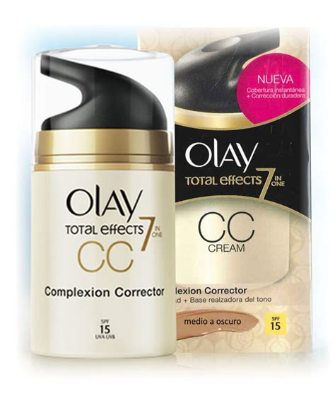 Olay Total Effect Cc olay total effects cc spf 15 complexion corrector