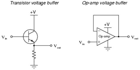 buffer lifier using transistor while a quot voltage buffer quot does not lify the voltage level of a signal it does lify the
