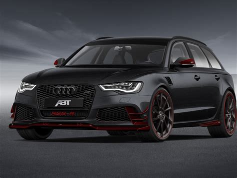 Audi Rs6 R Abt by Abt Sportsline Audi Rs6 R 2014 Car Picture 13 Of