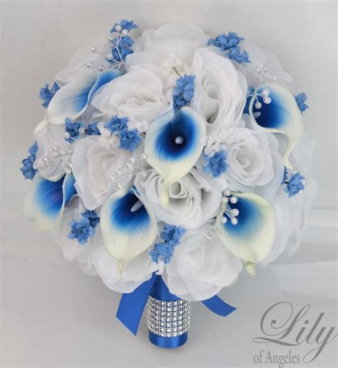 Wedding Bouquet Decorations by 17 Package Silk Flowers Wedding Bouquet Bridal