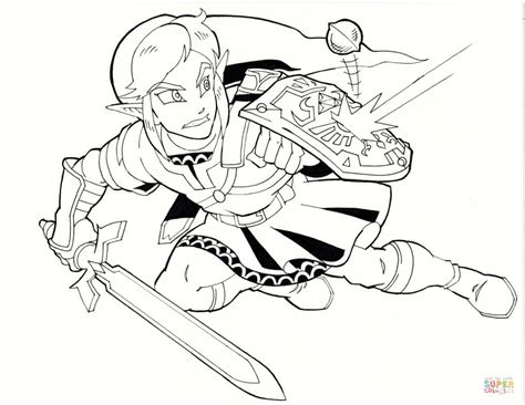 link coloring pages link coloring page free printable coloring pages