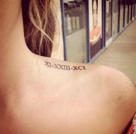 roman numbers tattoo tumblr roman numeral tattoo on tumblr