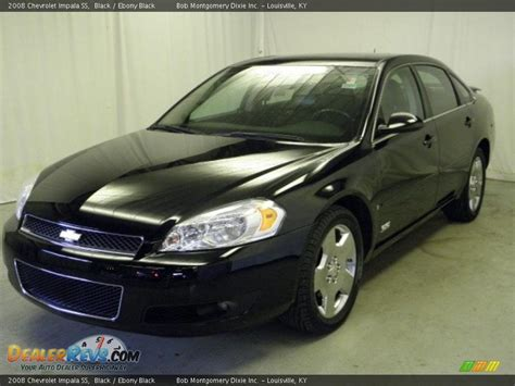 2008 impala black 2008 chevrolet impala ss black black photo 3