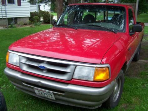find used 1995 ford ranger xl standard cab 2 door 2