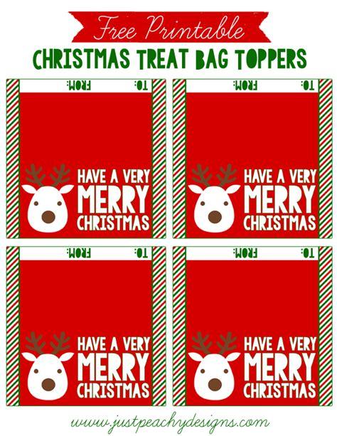 printable christmas treat bag toppers just peachy designs free christmas treat bag toppers