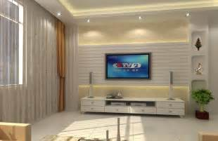 interior design on wall at home living room interior design with aquarium stair and background wall 3d house