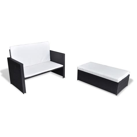 3 in 1 sofa vidaxl 3 in 1 sofabed set folding rattan sofa bed
