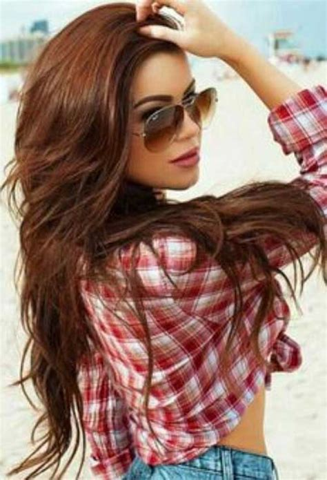 brunette red hairstyles 35 women with long hair long hairstyles 2017 long