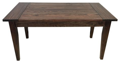 Rustic Mahogany Dining Table Mahogany Lodge Table 36 Inches Rustic Dining