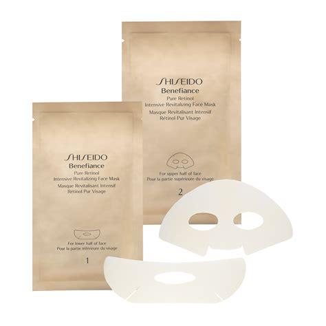 Shiseido Mask shiseido benefiance retinol intensive revitalizing