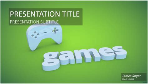 powerpoint templates video games game controller powerpoint template 9822 free game