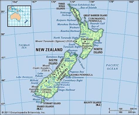 New Zealand Landscape Sts Issue 1 new zealand history geography points of interest