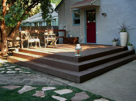 wrap around deck steps ideas pictures remodel and decor how to build a simple wooden deck rail bed mattress sale