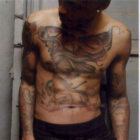august alsina chest tattoo 444 best august alsina images on bae august