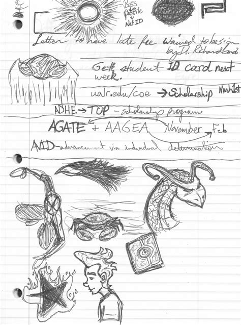 doodle log file class is in session brian s sketch