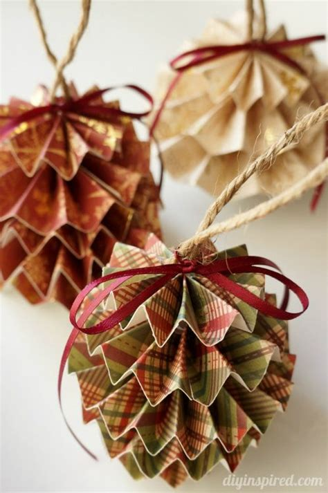 christmas decoration step by step tutrials diy paper ornaments paper ornaments diy paper and