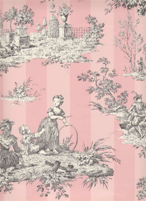 classic toile wallpaper classic vs modern looks the toile de jouy revisited