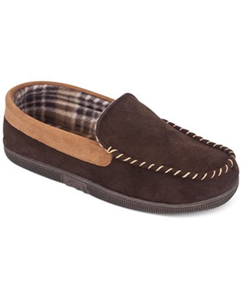 32 degrees heat slippers 32 degrees heat by weatherproof s two tone moccasin